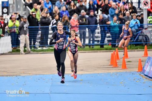 Summer Cook runs to Edmonton finish line