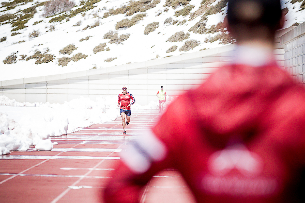 High altitude training with the world's best triathletes