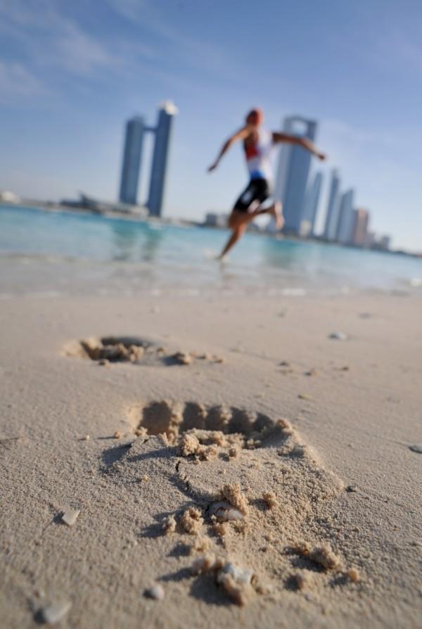 Abu Dhabi foot print