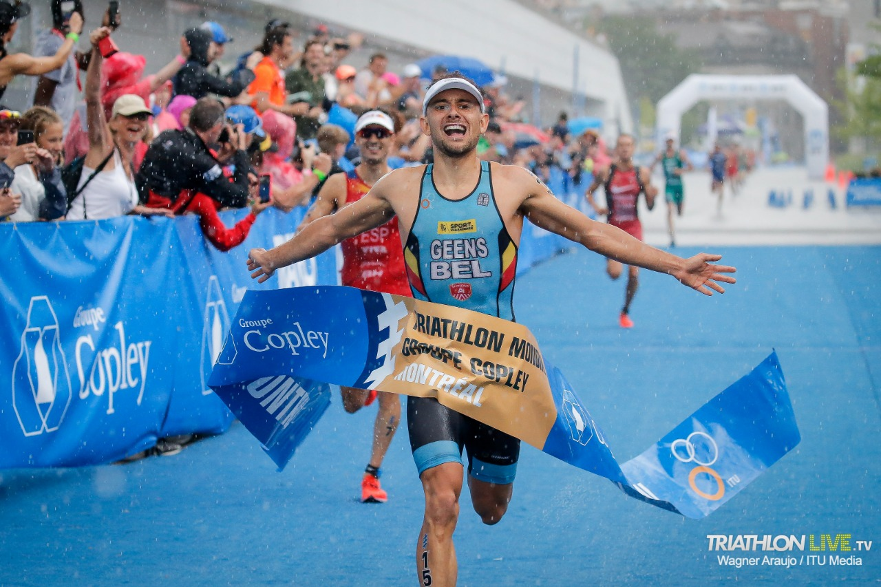 Jelle Geens shines under the rain to claim his first ever WTS victory in Montreal