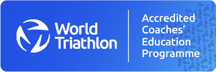 World Triathlon Accredited Coaches' Education Programme Logo