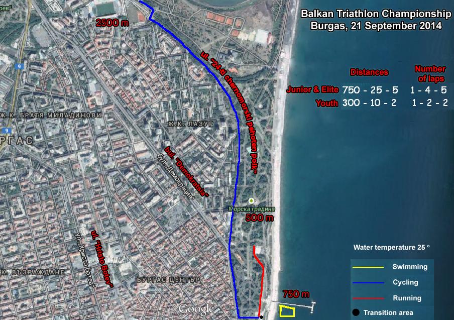 2014 Burgas ETU Triathlon Balkan Championships Triathlonorg