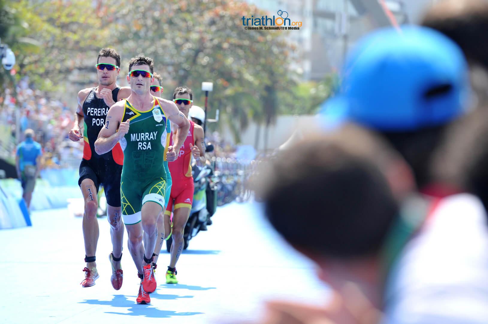 Richard Murray running in Rio