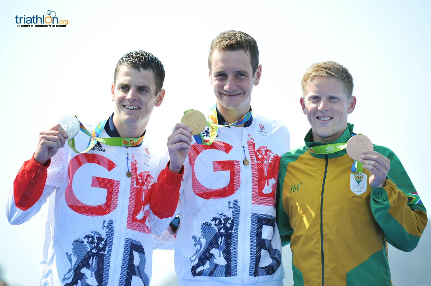 Rio Olympic Mens podium