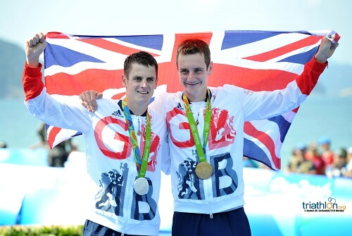 brownlee brothers olympic podium