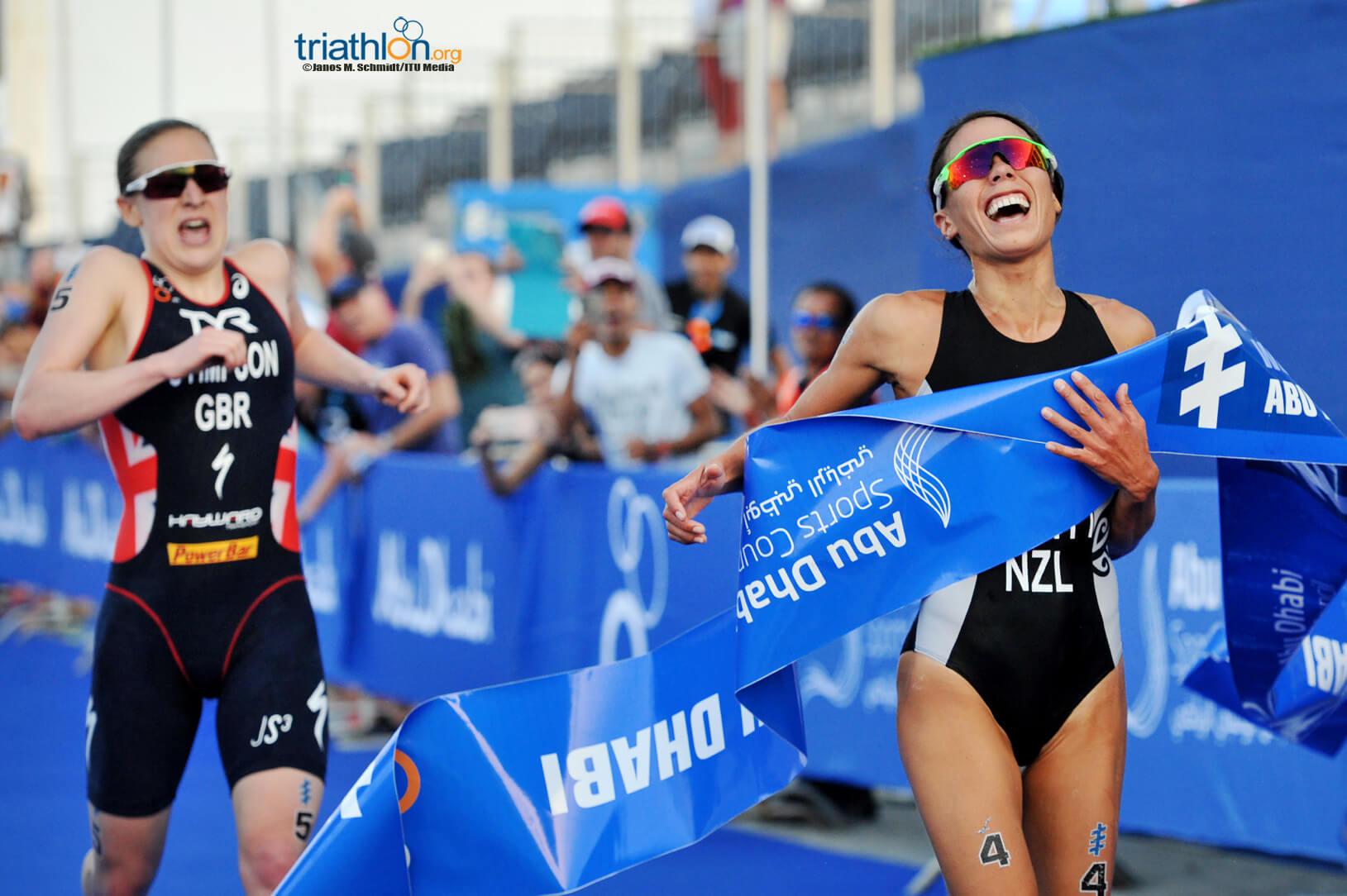 Andrea Hewitt wins in Abu Dhabi