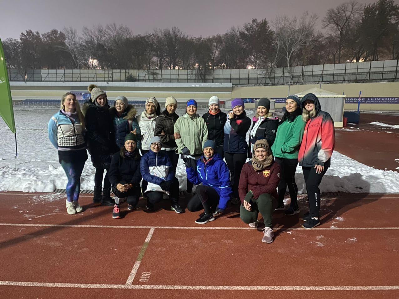 Uzbekistan tri club_track session