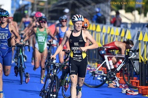 Laura Lindemann in second transition
