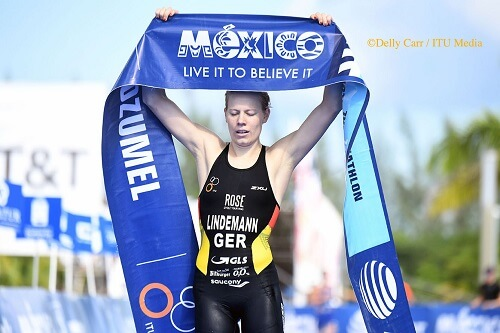 Laura Lindemann wins Cozumel