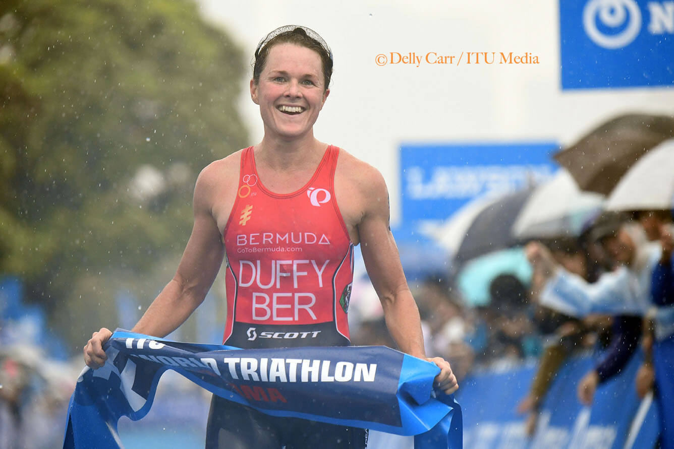 Flora Duffy wins in Yokohama