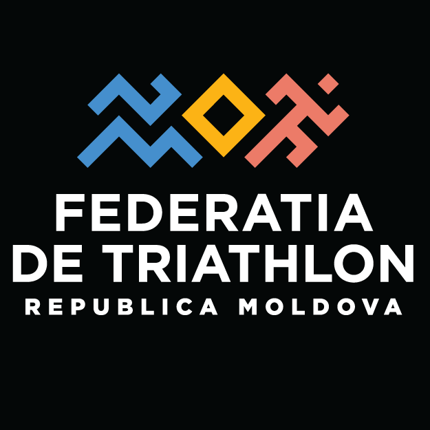 National Triathlon Federation of the Republic of Moldova logo