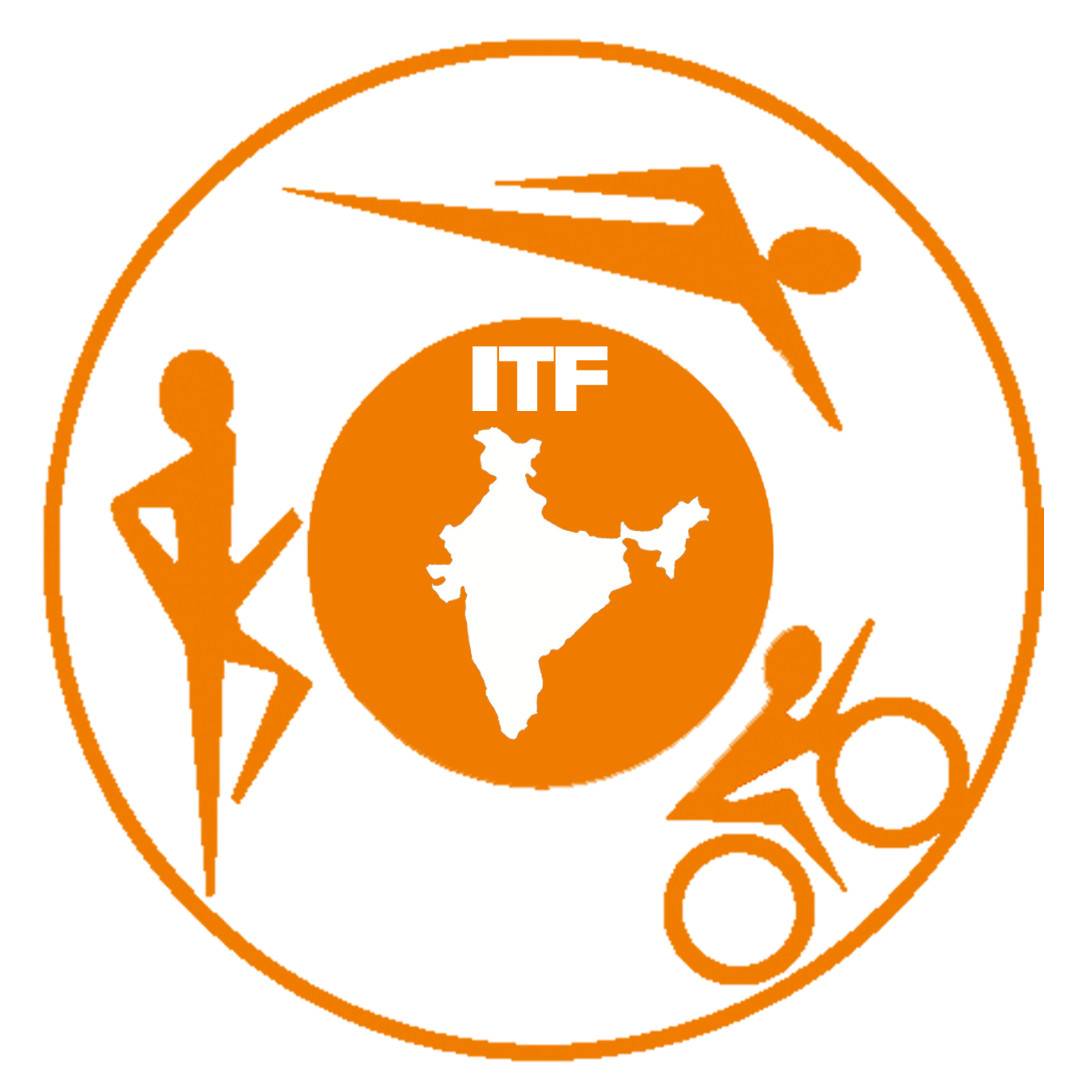 Indian Triathlon Federation logo