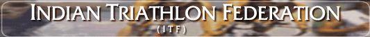 Indian Triathlon Federation logo