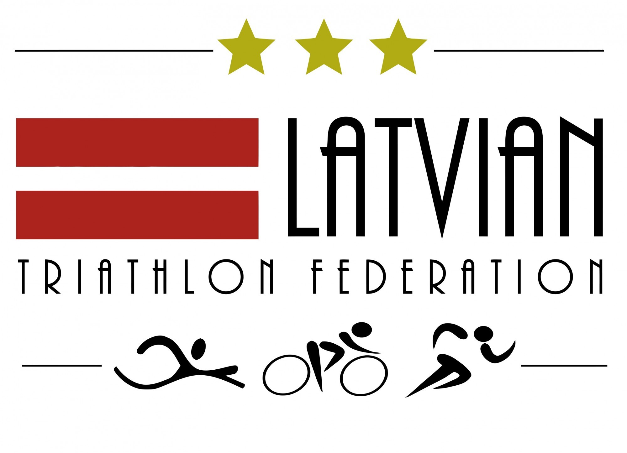 Latvian Triathlon Federation logo