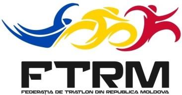 National Triathlon Federation of the Republic of Moldova logo