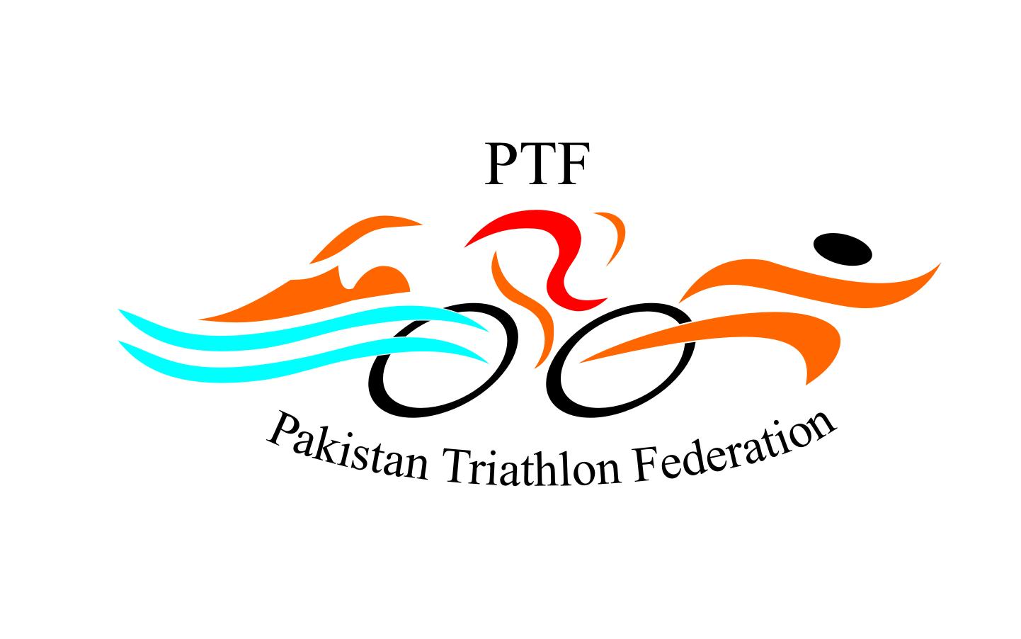 Pakistan Triathlon Federation PTF logo