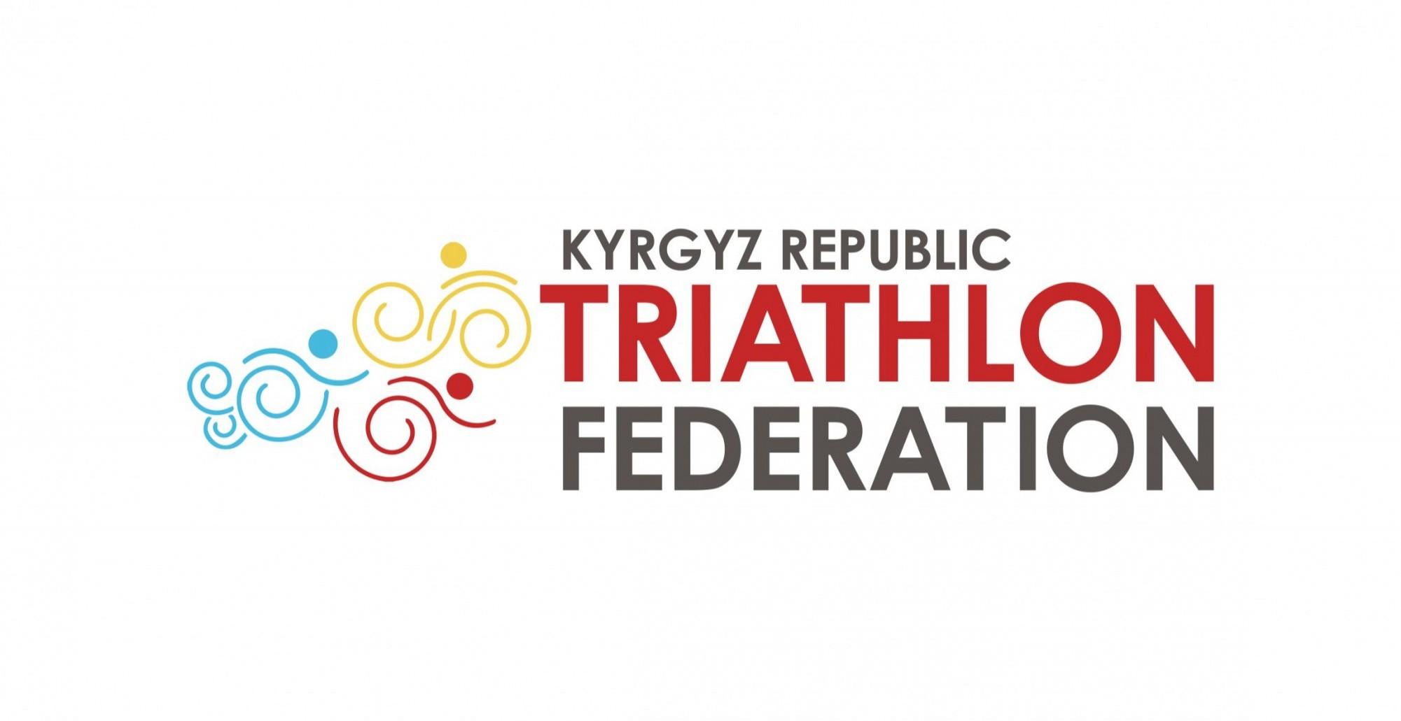 Kyrgyz Republic Triathlon Federation logo