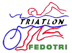 Federación Dominicana de Triatlón logo