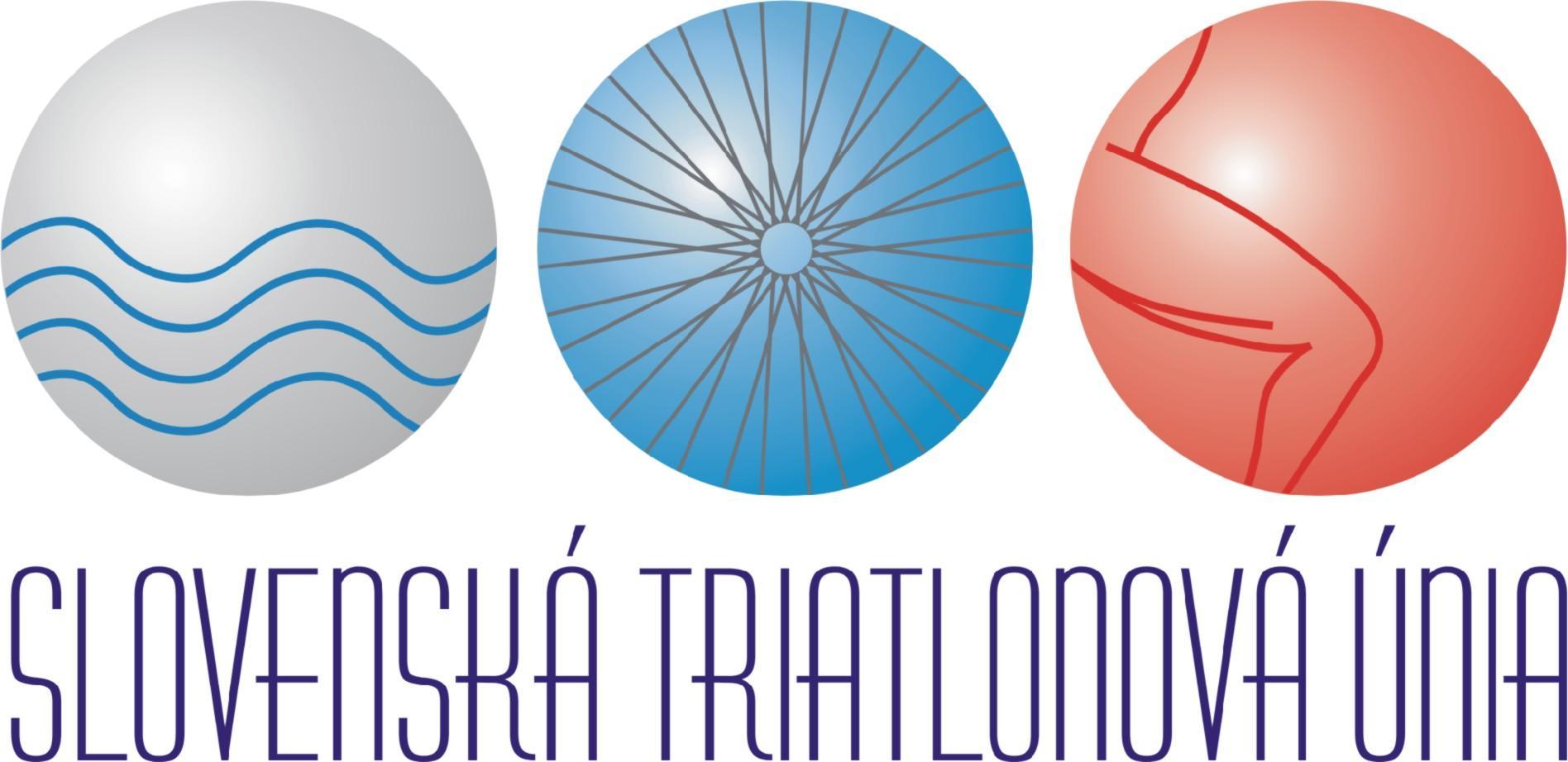 Slovenska triatlonova unia logo