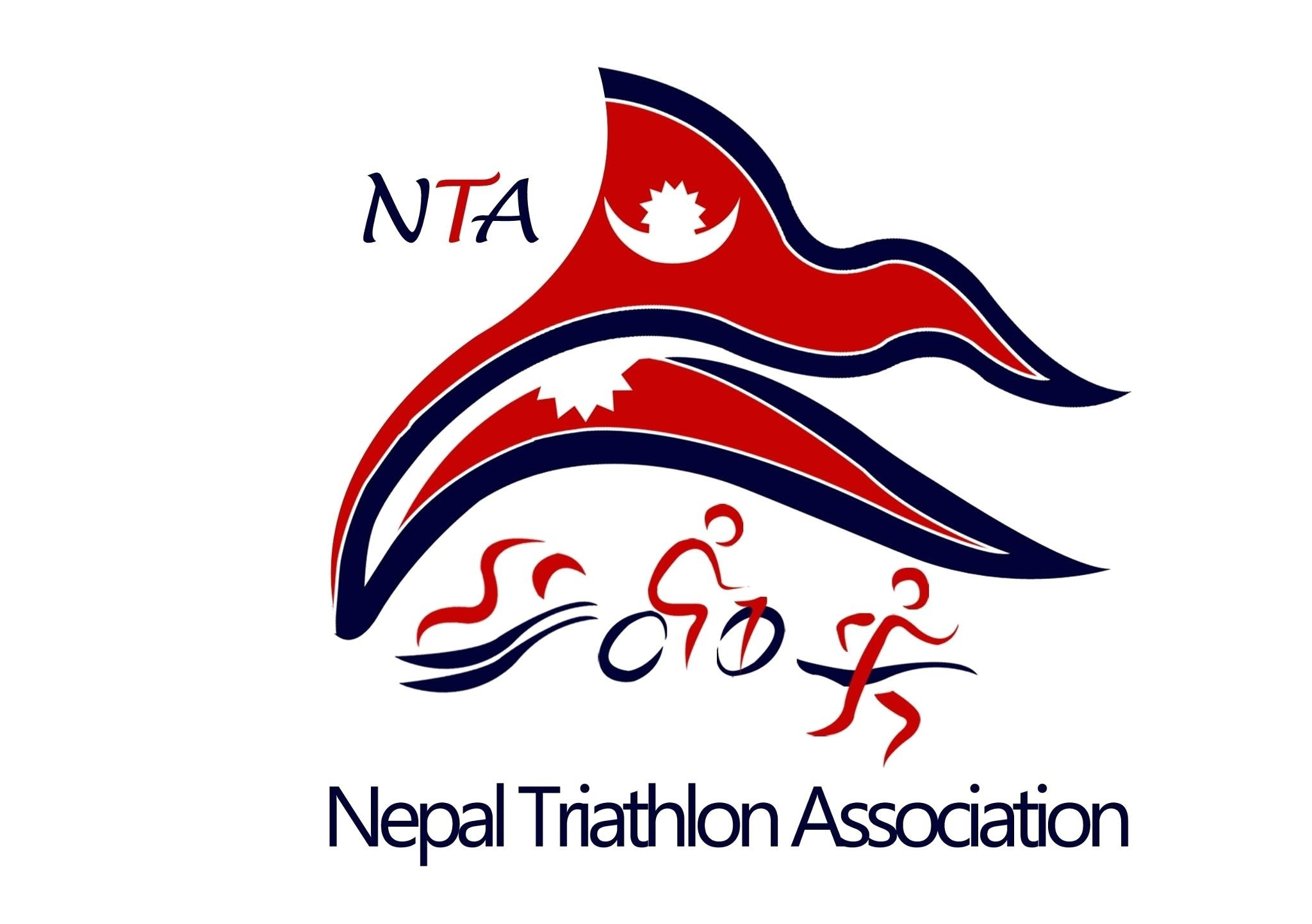Nepal Triathlon Association logo