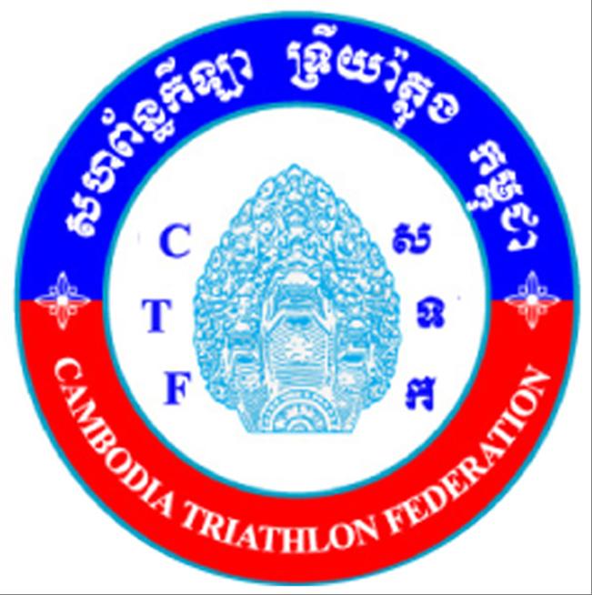 Cambodia Triathlon Federation (CTF) logo