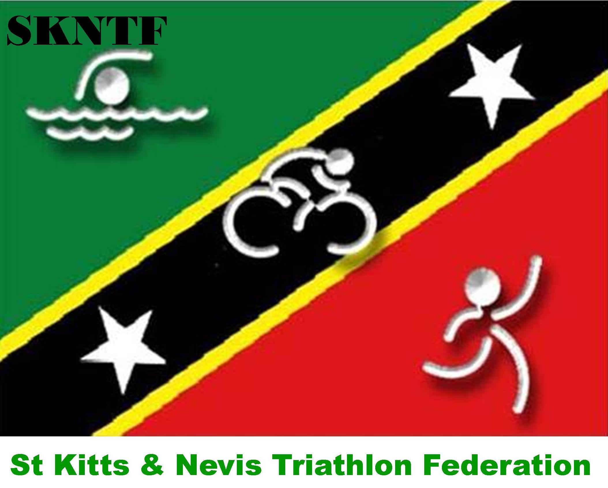 Saint Kitts & Nevis Triathlon Federation logo