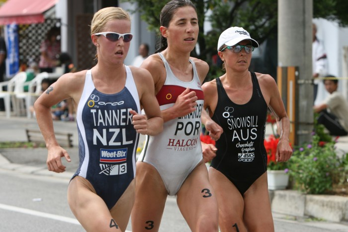 Amateur triathletes