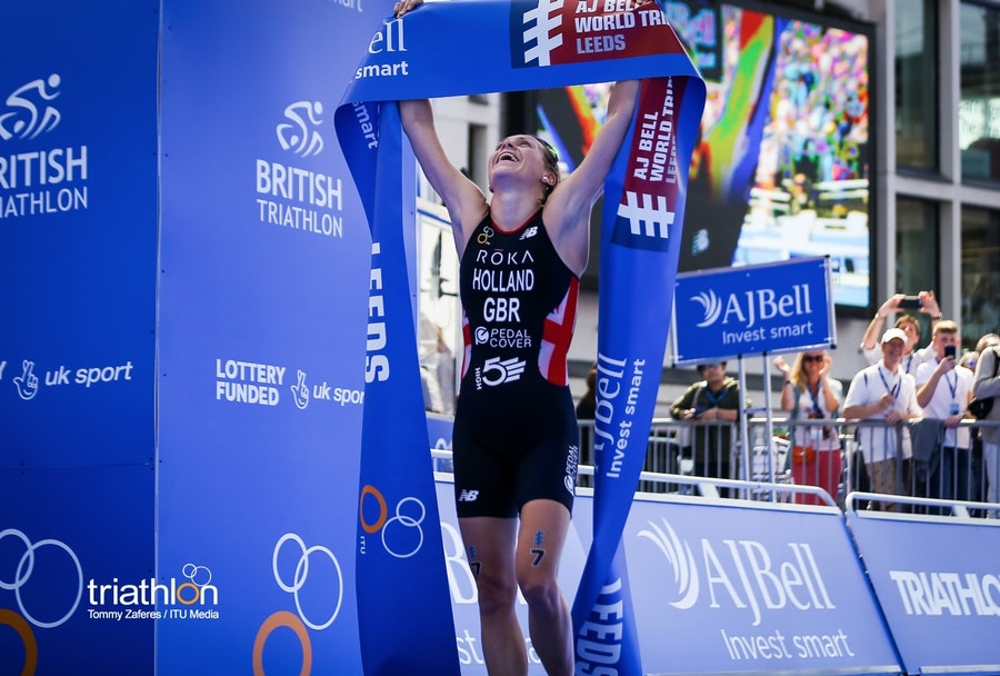 Vicky Holland brings home the gold after thrilling Leeds