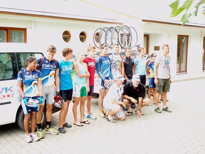 Tiszaujvaros Hungary  city pictures gallery : ... ' ITU Pre Worlds Base Camp in Tiszaujvaros, Hungary | Triathlon.org