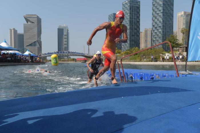 © Satoshi Takasaki/ International Triathlon Union